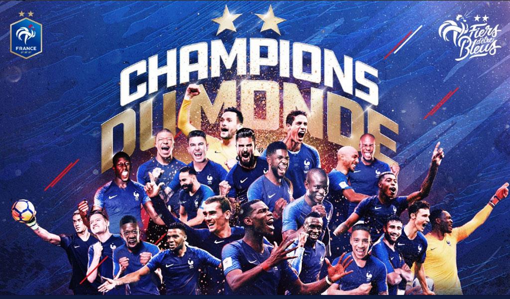 Francia, un campeón lleno de cábalas