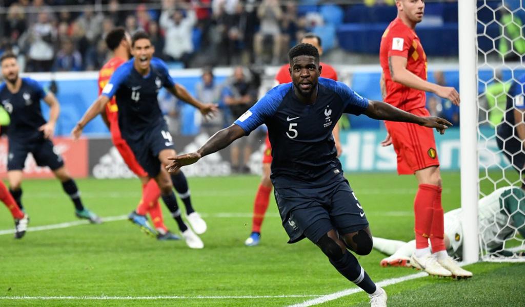 Francia finalista en el Mundial