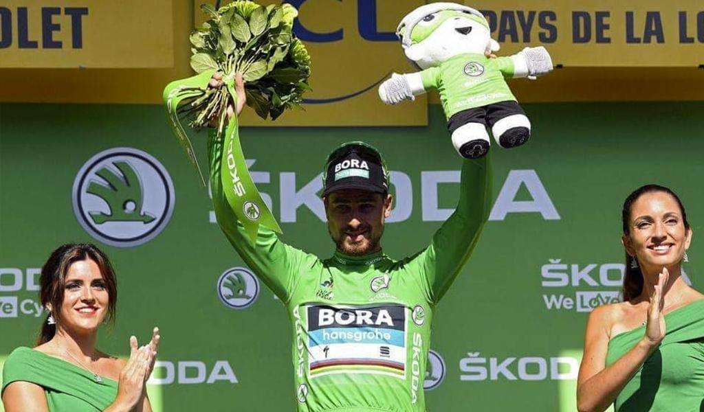 Peter Sagan continúa con la camiseta verde
