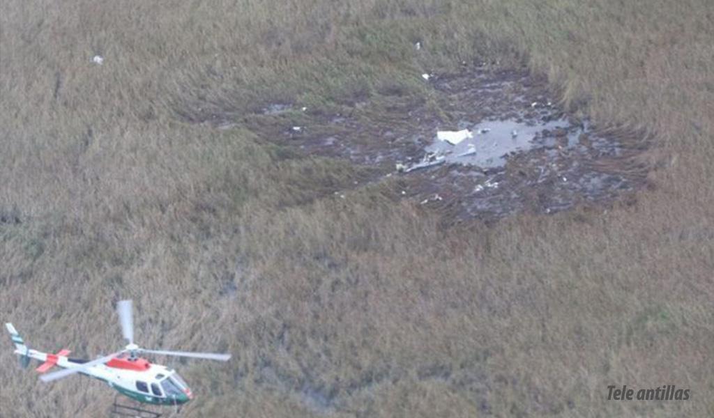 Conmoción: desintegrada la avioneta donde viajaba ministro de Agricultura