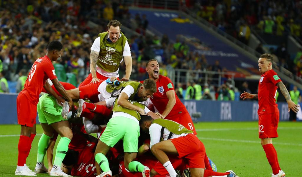 Inglaterra a cuartos de final
