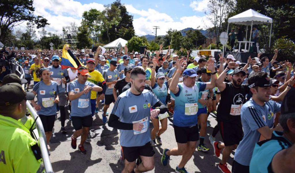 La esencia de correr en la Media Maratón de Bogotá