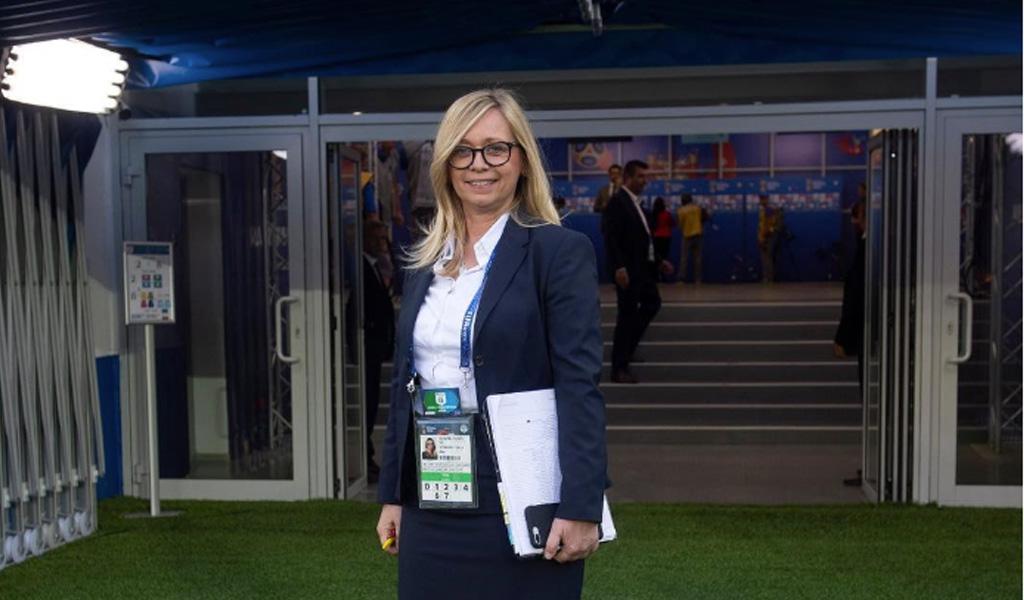 Iva Olivari, la jefa de Croacia en el Mundial