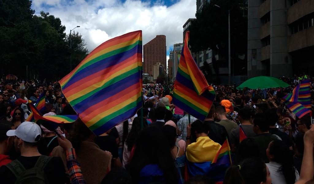 Así avanza la marcha del Orgullo LGBTI en Colombia