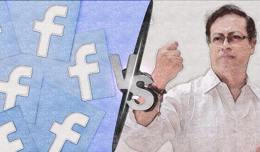 Gustavo Petro vs Facebook