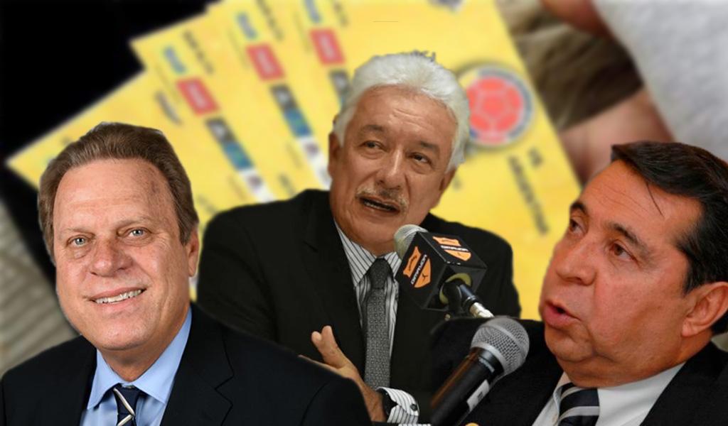 Federación Colombiana de Fútbol reventa