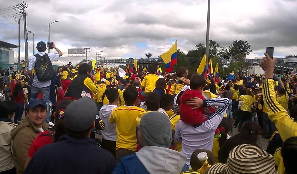 Cierres viales por llegada de la Selección Colombia