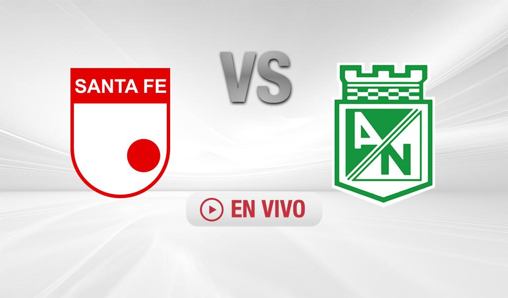 Atlético Nacional venció 2- 0 a Santa Fe
