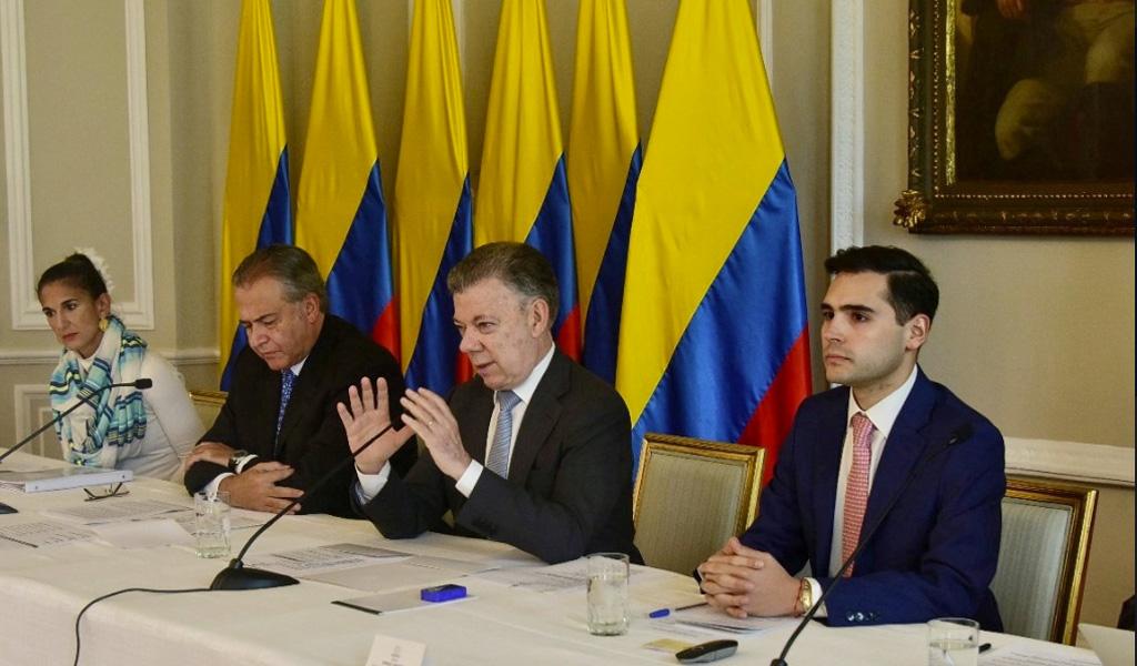 La cooperación internacional fue clave para el acuerdo de paz