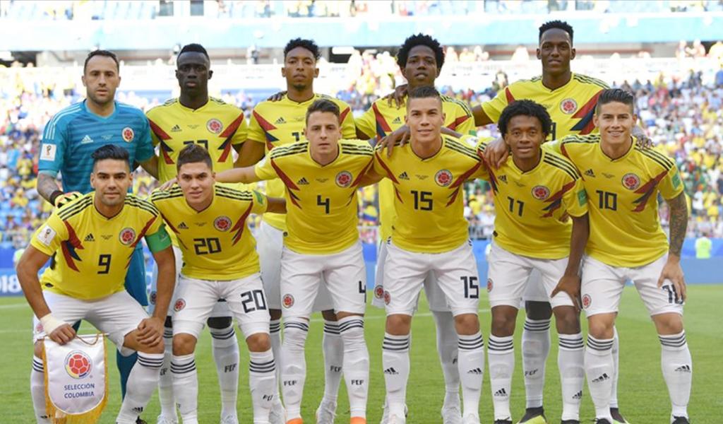 jugadores colombianos selección Colombia
