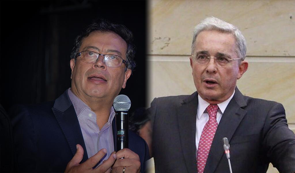 Gustavo Petro Álvaro Uribe