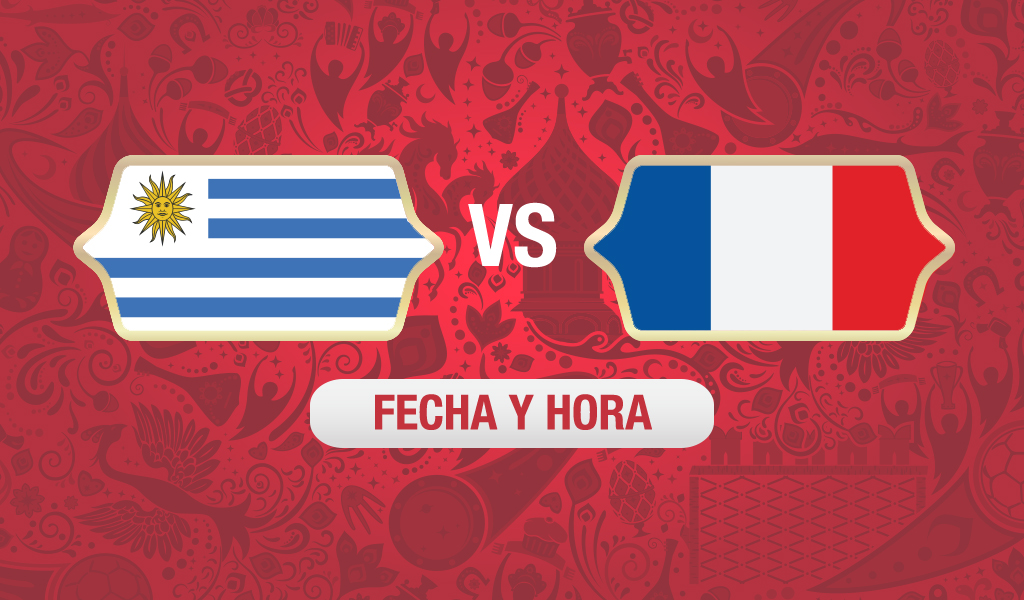 uruguay vs francia fecha y hora