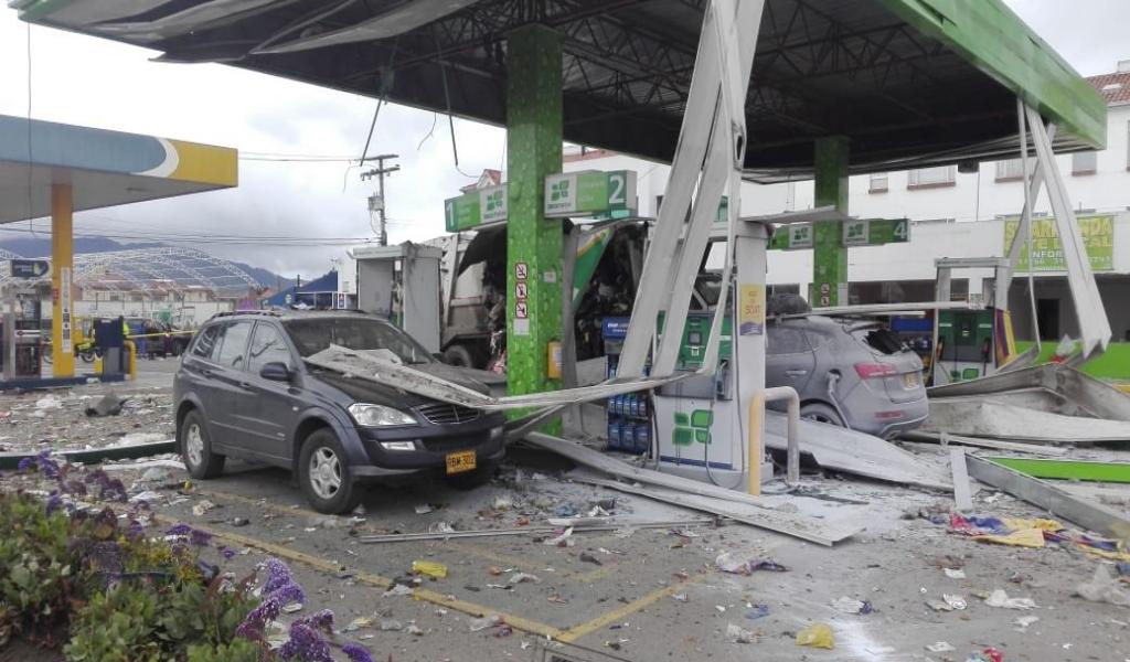 Camión de basura explota en la variante Chía – Cota