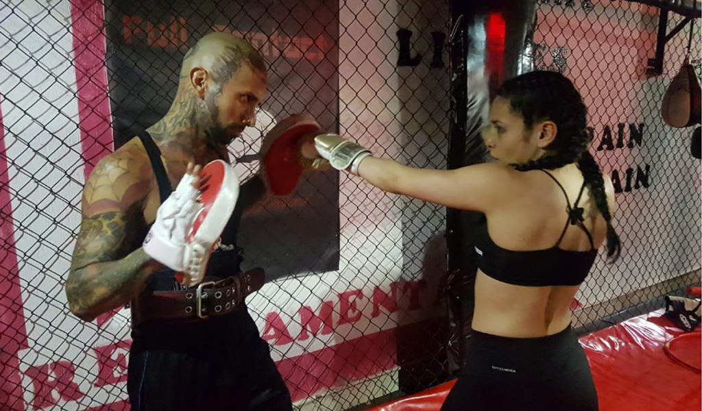 La colombiana presente en el Mundial de artes marciales mixtas