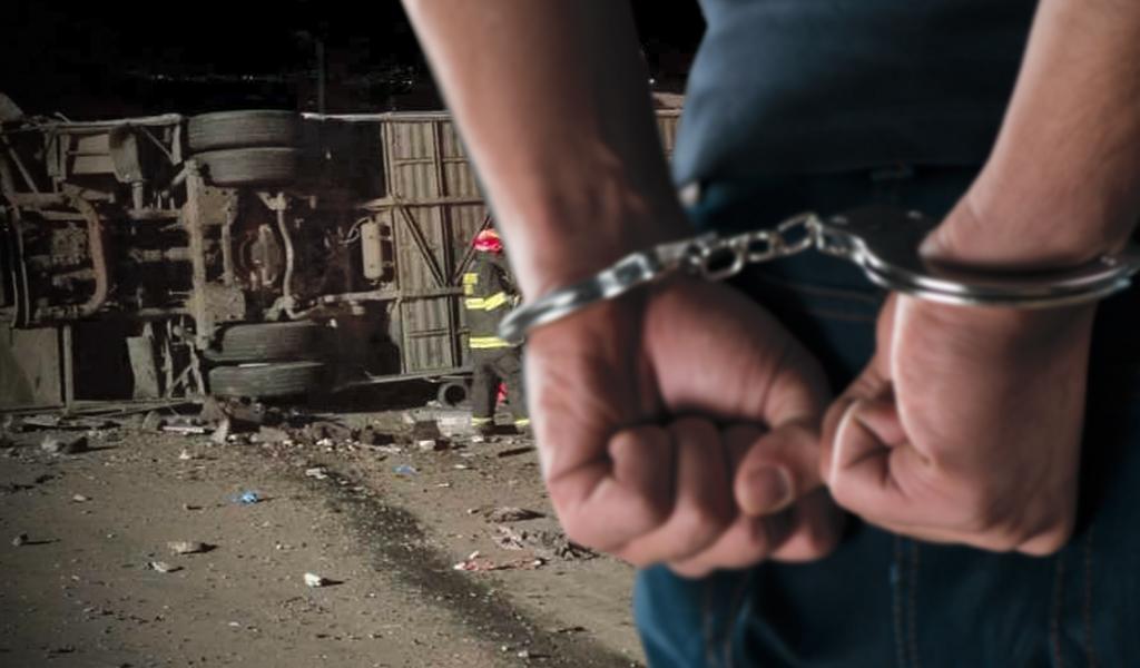 Capturan a responsables del 'narcobus' accidentado en Ecuador