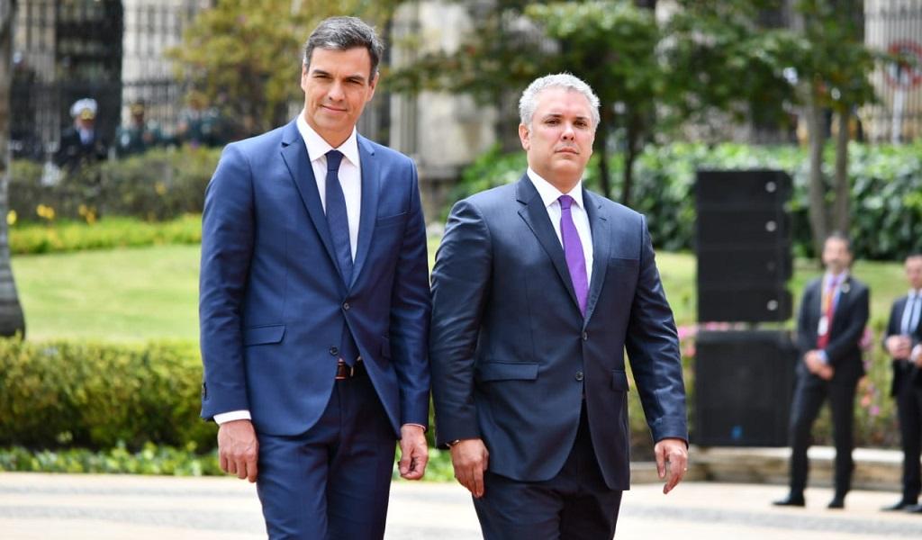Temas claves en reunión de Iván Duque y Pedro Sánchez