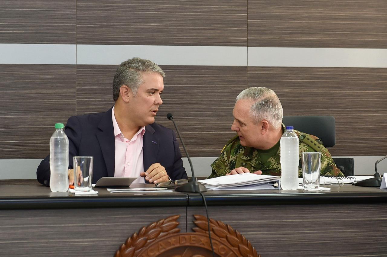 Duque pide a ONU prorrogar misión en Colombia
