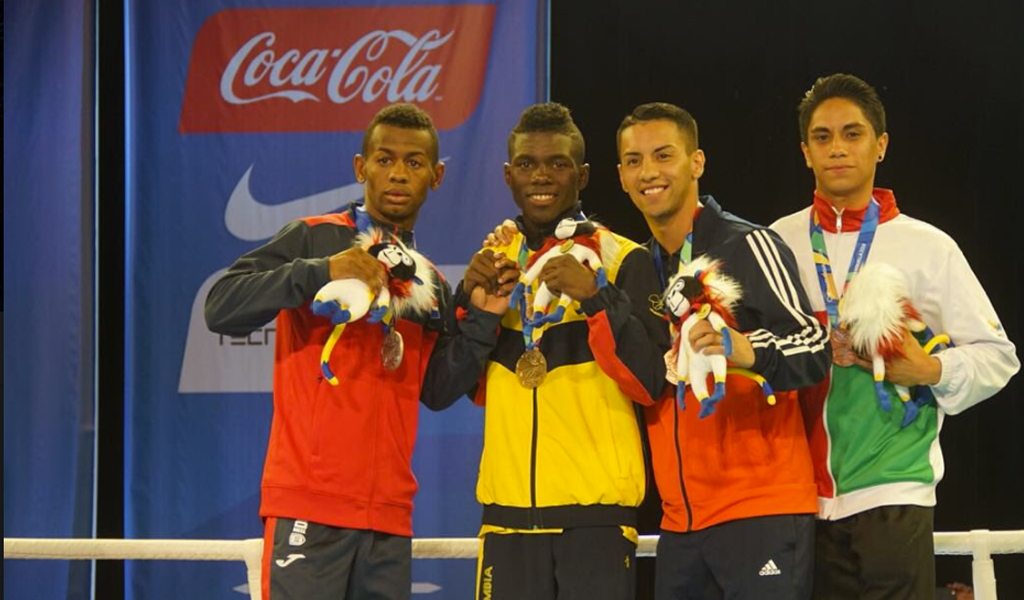 Oro en boxeo de Yuberjen Martínez para Colombia