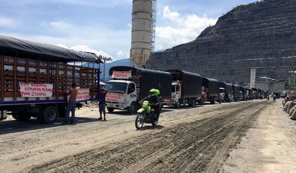 EPM anuncia medidas para mejorar movilidad hacia Ituango