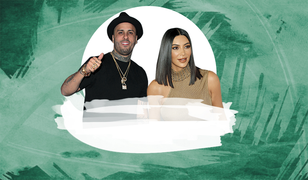 Nicky Jam de fiesta con Kim Kardashian