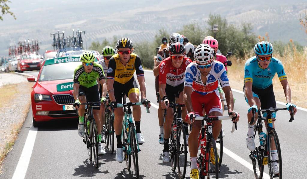 Simon Clarke sale victorioso en la etapa 5 de La Vuelta