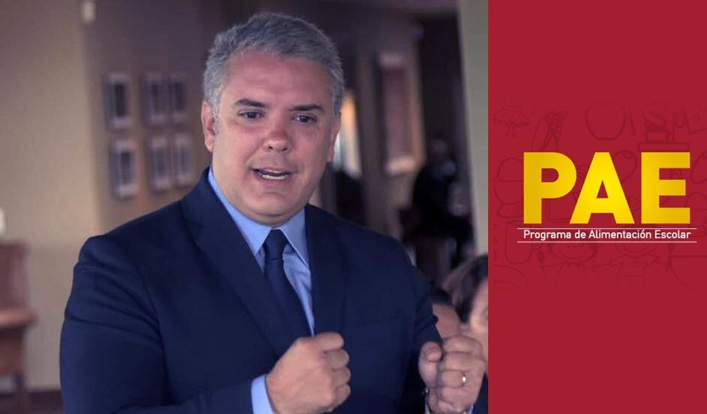 Procuraduría pide a Iván Duque garantizar recursos para el PAE