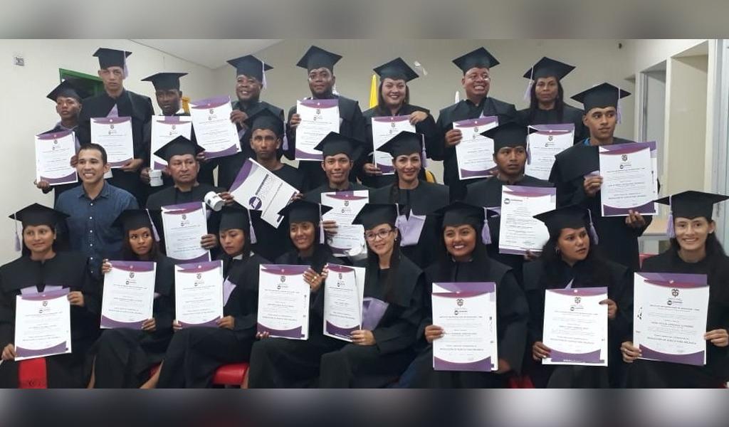Unión Europea graduó técnicos laborales en Urabá