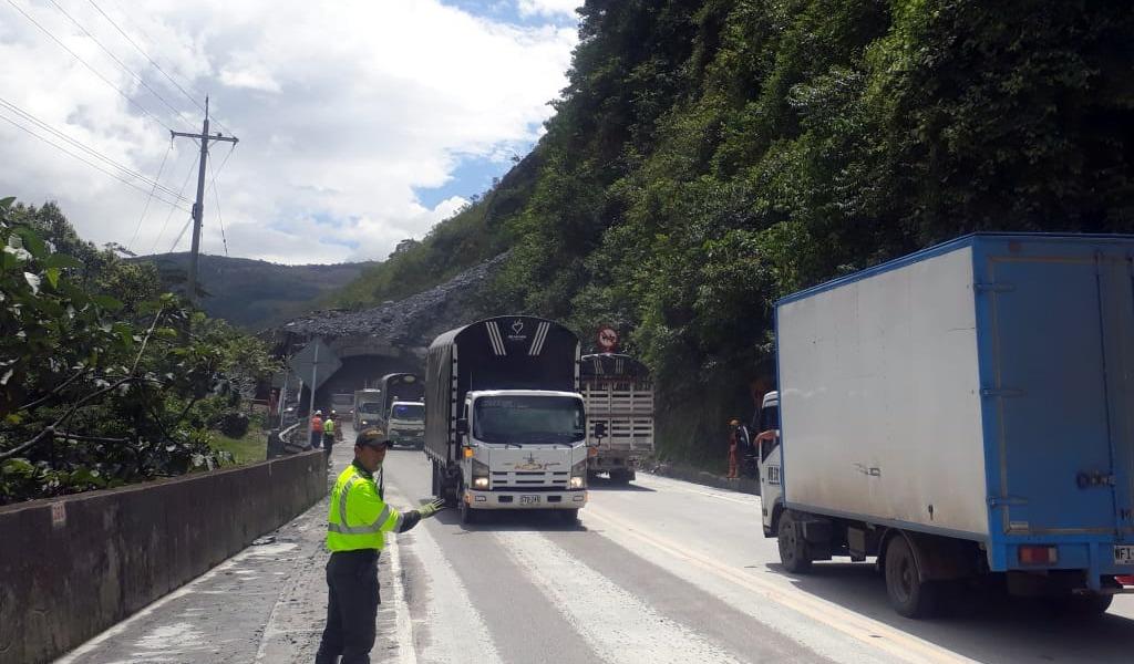 Vía Bogotá-Villavicencio ya fue habilitada