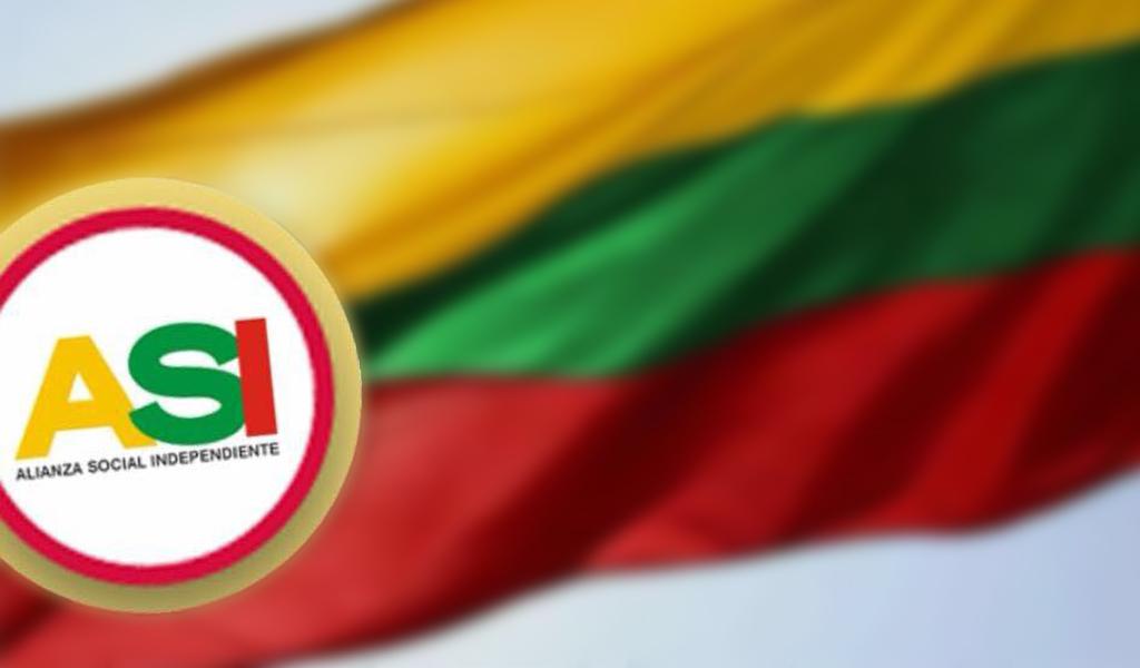 Uribe agradece el apoyo de ASI al nuevo gobierno