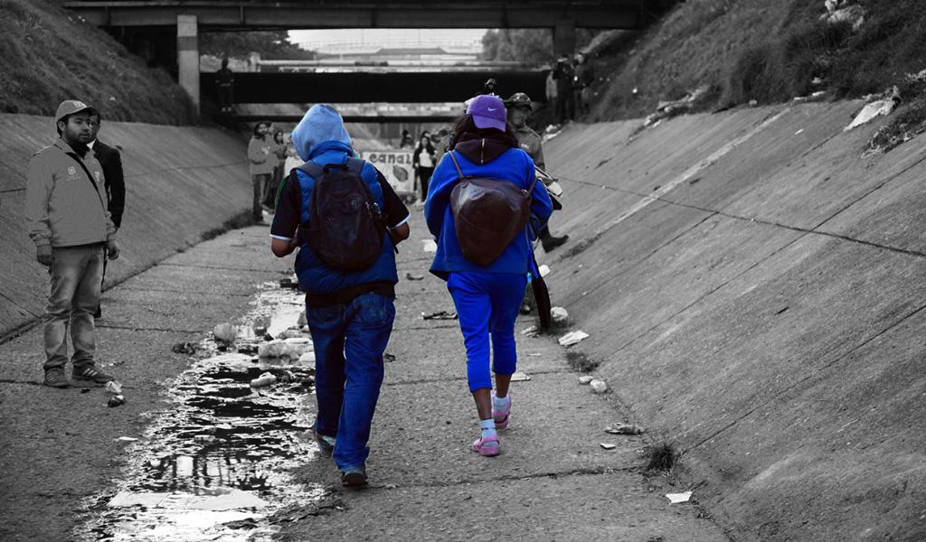 Ángeles Azules: los 'enemigos' de los 'sayayines' en el Bronx