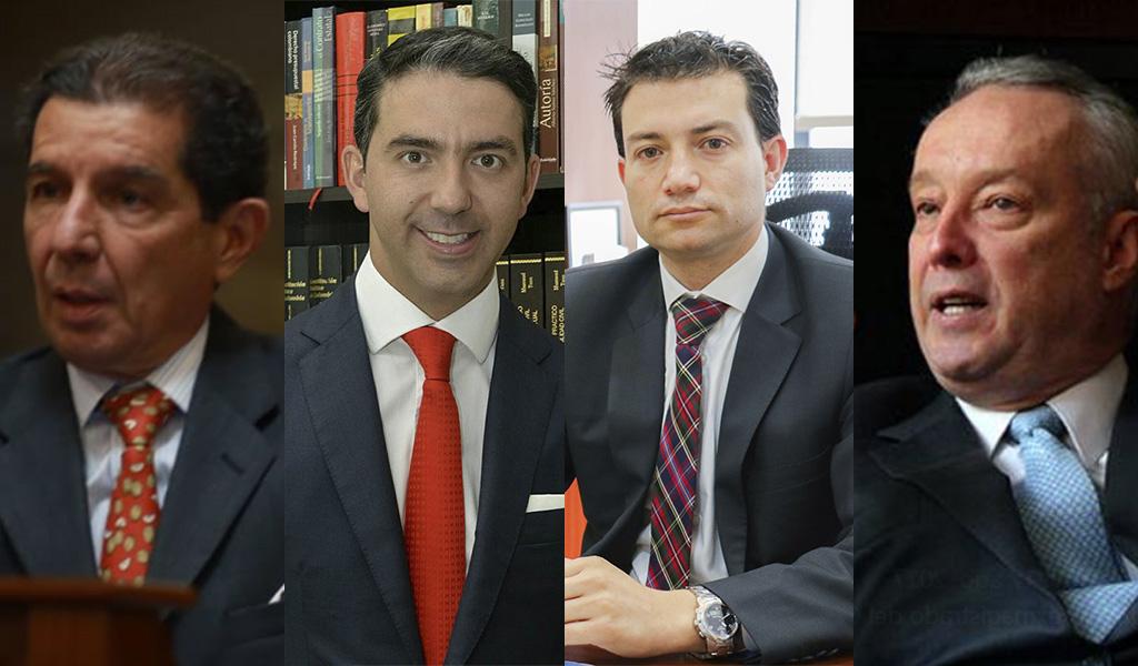 Cuatro candidatos a contralor comentan la elección