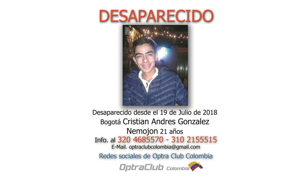 Pocas pistas sobre el joven desaparecido Cristian Nemojón
