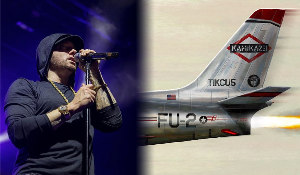 Eminem nuevo álbum Kamikaze
