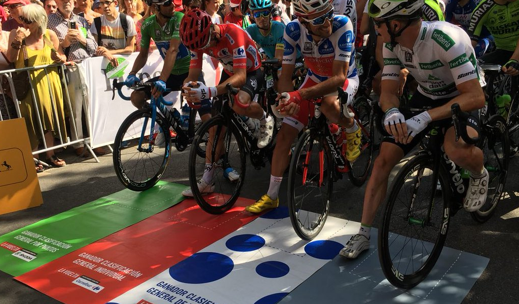 Nuevo líder en la clasificación general de la Vuelta