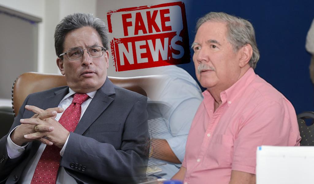Las 'Fake News' tocan a los ministros de Duque