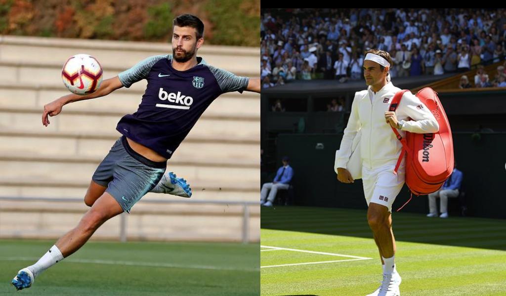 Zapatero a tus zapatos: Roger Federer a Gerard Piqué