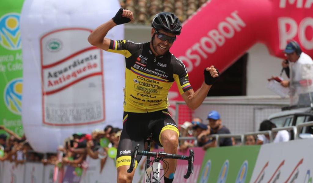 Frank Osorio ganó etapa 8 de la Vuelta a Colombia