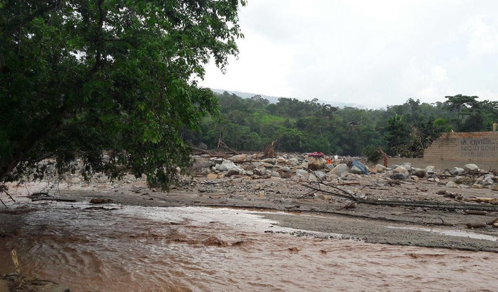 Alerta roja por desbordamiento de ríos en Mocoa