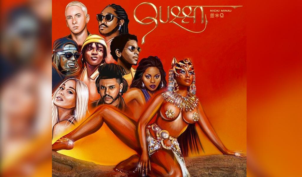 """Nicki Minaj lanzó nuevo disco titulado """"Queen"""""""