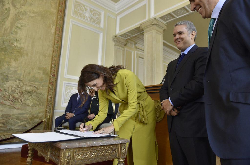 Se posesionó directora del ICBF de gobierno Iván Duque
