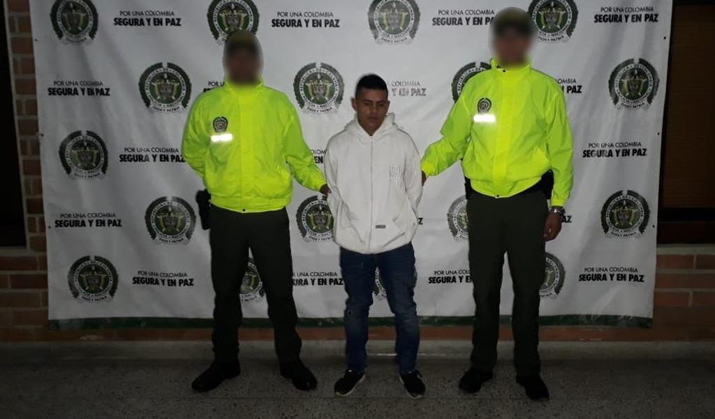 Capturado 'la Chinga' presunto ladrón de buses en Medellín