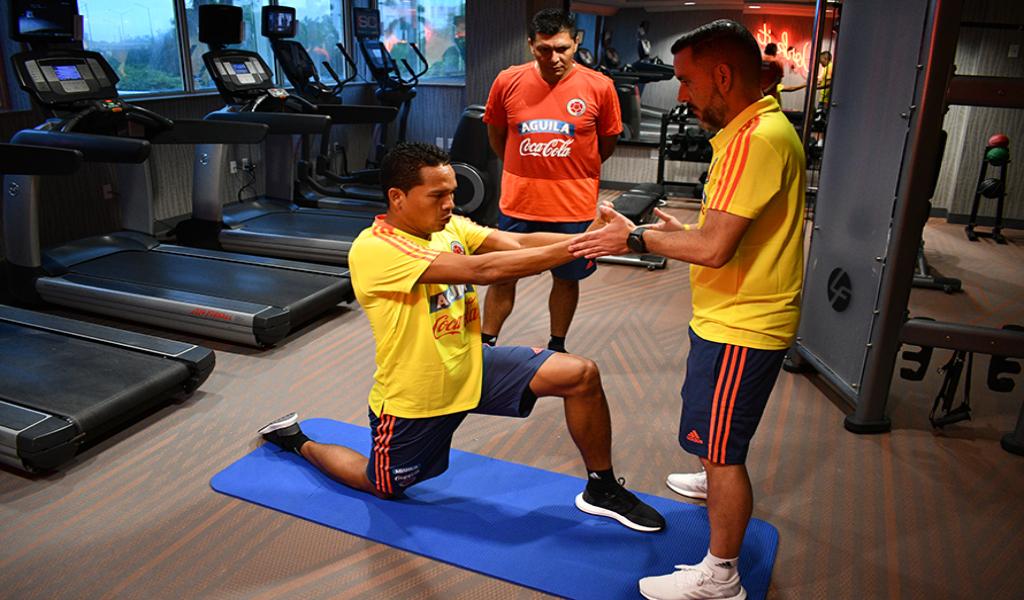 Selección Colombia entrena en Miami