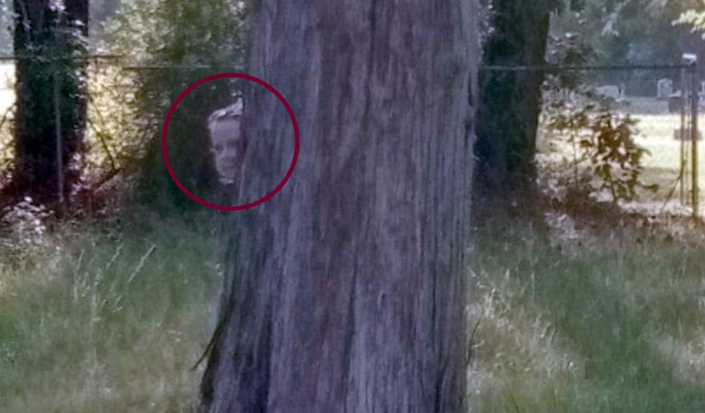 niña fantasma google maps street view