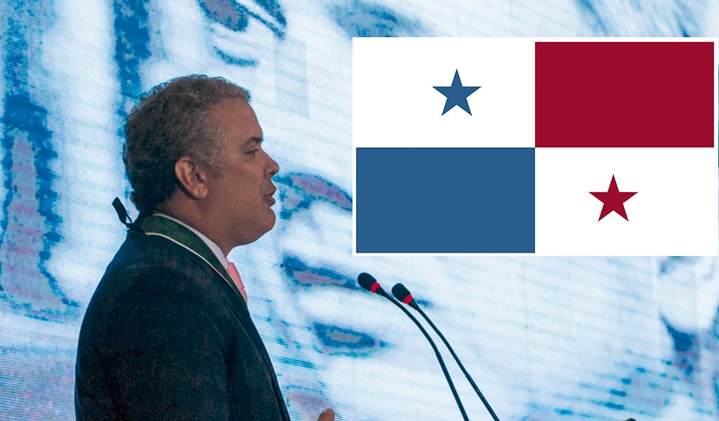 Duque buscará fortalecer las relaciones con Panamá