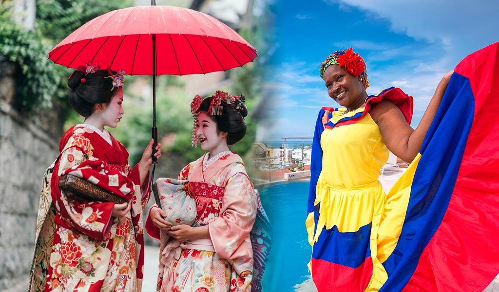 Colombia y Japón hablan de cooperación cultural