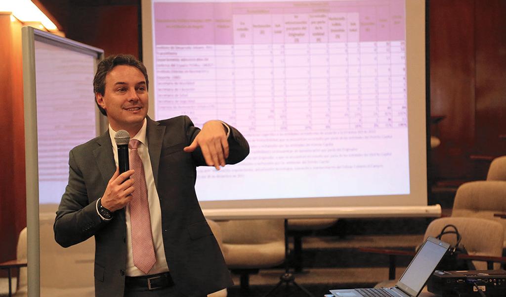 Jean Philippe Pening, es el nuevo director de Fonade