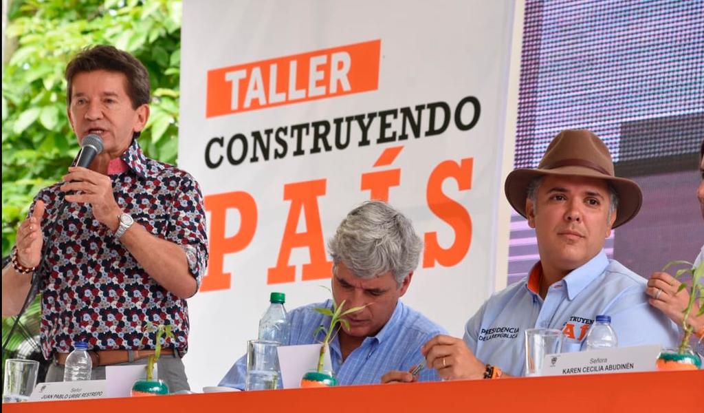 Las peticiones de Luis Pérez al presidente Duque para Antioquia