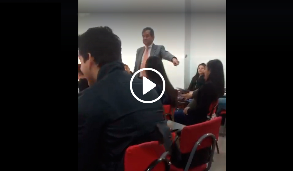 Acciones disciplinarias a profesor con discurso homofóbico