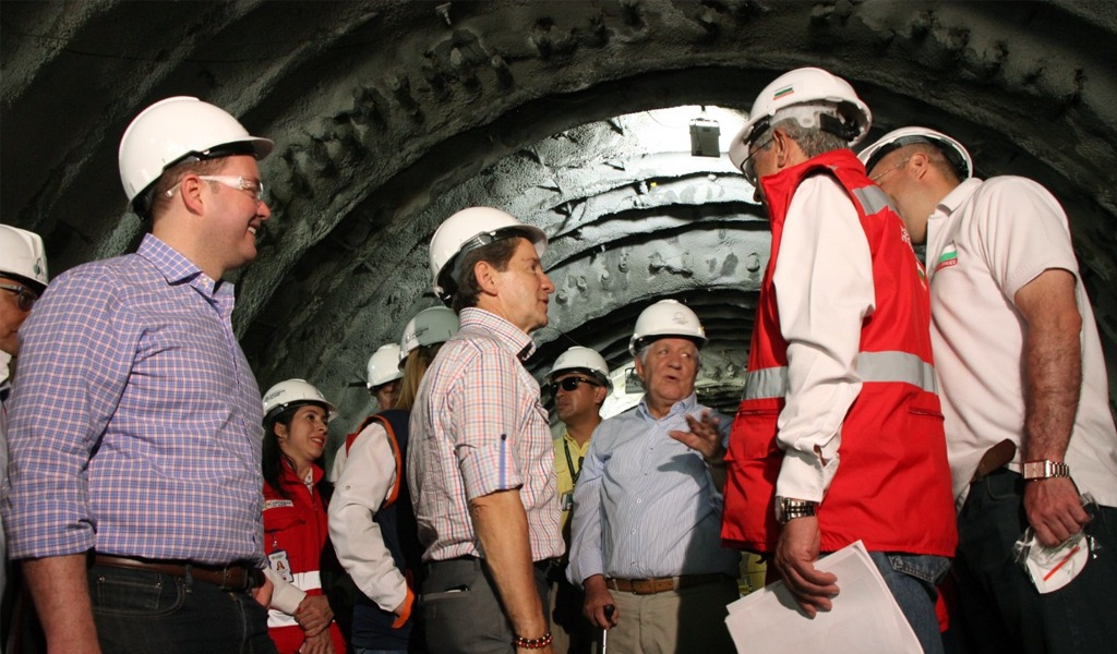 Túnel del Toyo tuvo una visita técnica y de revisión