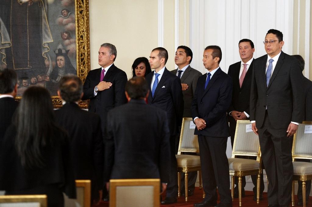 Duque pide reformas electorales ante nuevos magistrados del CNE